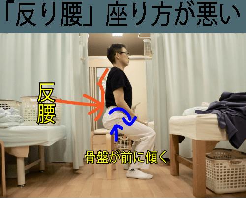 ギックリ腰 椅子から立ち上がれない 腰痛